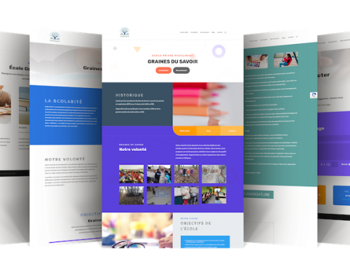 Site web école privée