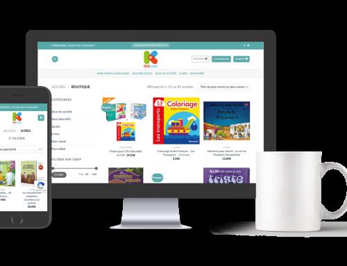E-commerce :  Site de vente en ligne de jeux, jouets et livres